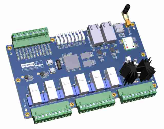 Customized PLC board | Engineering Spirit BV
